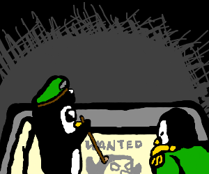 Penguin Army Plans Attack Against Wanted Penguin