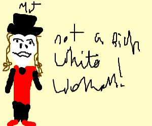 Micheal Jackson is not equal to rich white woman