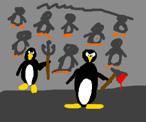 Attack of the Penguins