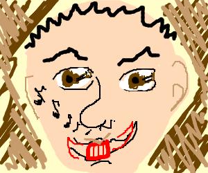 Singing nose, Guitar Eye, Drummer mouth