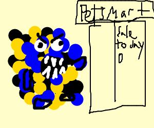 Particules monsters go to a Pet Shop Sale