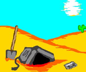 Burying old tech in the desert