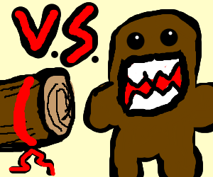 Log vs. Domo-Chan