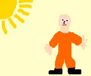 a prisoner in the sun