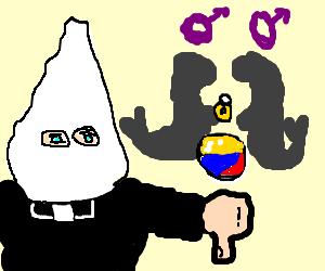 ku klux klan priest refuses to marry 2 gay seals