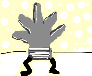 Glove with legs