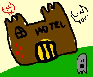 Hotel from horror movie
