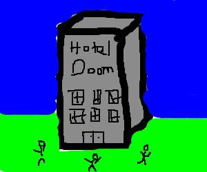 """Hotels spell""""DOOM"""" to some people"""