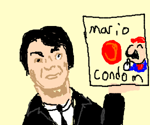 Miyamoto beating a dead horse (This time; Mario)