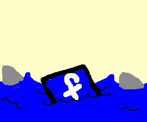 Facebook goes swimming with the sharks