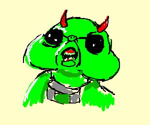 A smelly demonized baby raxacoricofallapatorian