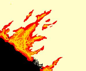 Burning this draw