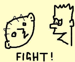 Stewie v Bart