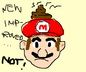 The new Mario game is not fun!