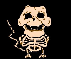 Pikachu's Skeleton