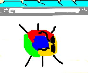 Google crome has a bug