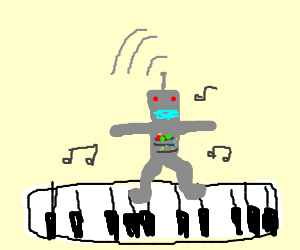 """Robot plays the piano from """"Big"""""""
