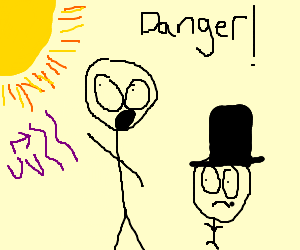 A young Lincoln learns the dangers of UV rays