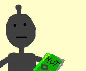 ROBOT READS NUT MAGAZINE