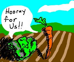 YEA for veggies!!