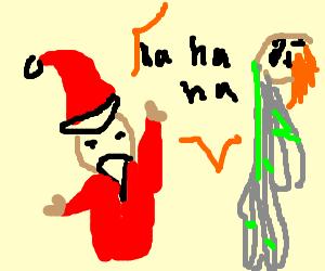 Santa beats Ganon using the laughter of children
