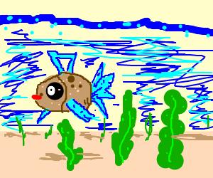 Feebas in the lake