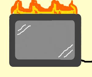 Overheating Computer Screen