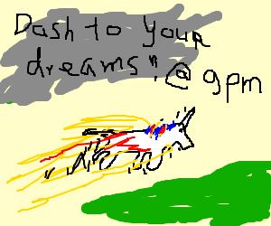 Organic Unicorn Attack - On Adult Swim 9pm