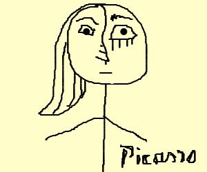 If Picasso drew stick figures