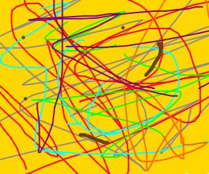 Jackson Pollock, Age: 5
