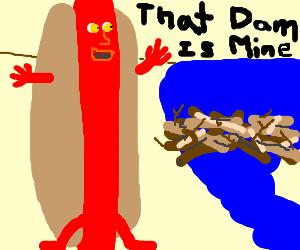 Hoover Dam Hot Dog