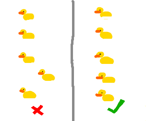 Get all your ducks in a row!