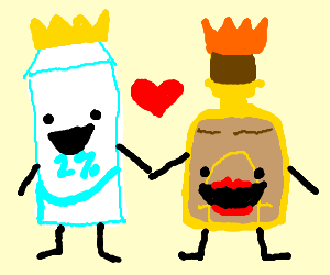 King Milk and Queen Tequila love each other