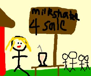 Her milkshake brings all the boys to the yard
