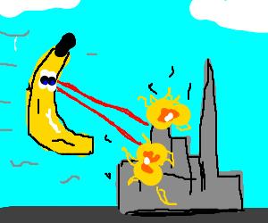 banana taking over the world