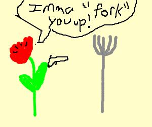 Rose Threatens Fork