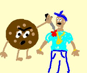 Cookie stabbed Gangsta
