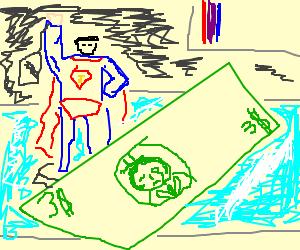 superman figure worth 3 dollars at shop