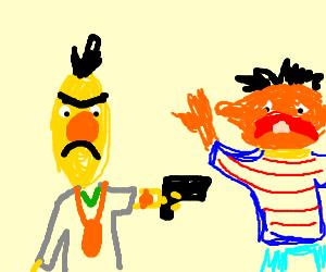 gangsta burt seeks to kill ernie