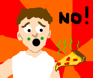 Man has allergic reaction to wrong pizza