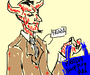 The devil actually wears prada