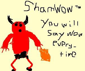 Devil Is now a wicked salesman