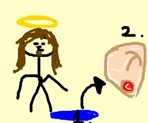 Jesus trasformed water in beer