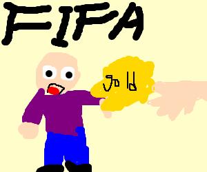 President of FIFA refuses bribe