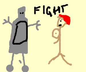 Bender vs. Cartman's Mom deathmatch