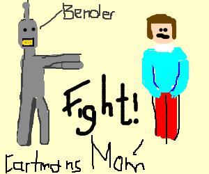 Bender Vs. Kartman's mom