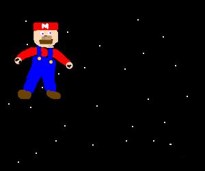 Super Mario in Space