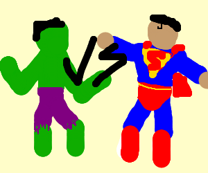 Hulk vs Superman