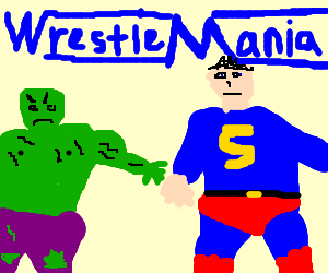 Wrestlemania: Superman vs Hulk
