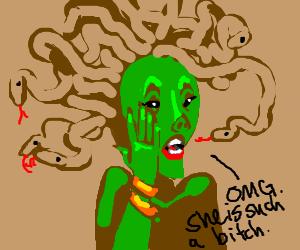 Medusa gossiping